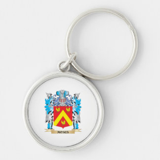 Moses Coat of Arms - Family Crest Key Chains