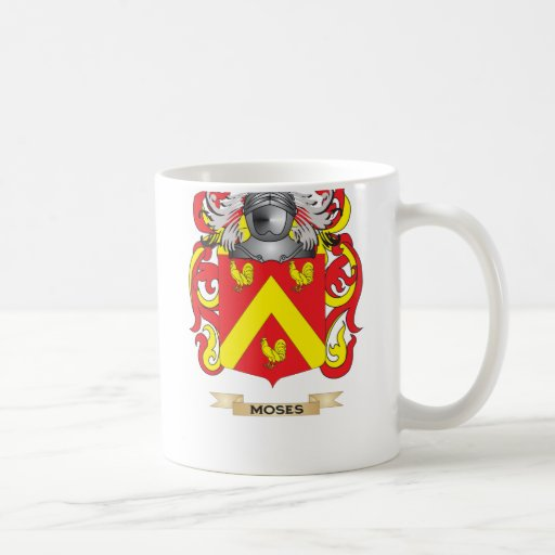 Moses Coat of Arms (Family Crest) Classic White Coffee Mug