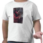 Moses con las tabletas de la ley camisetas