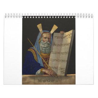 Moses de Henry Schile 1874 Calendarios De Pared