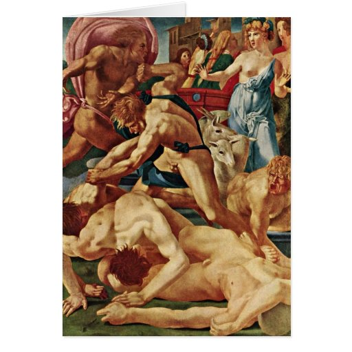 Moses defiende a los chicas de Juan Di Jacopo Felicitación