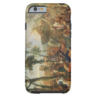 Moses Drawing Water from the Rock (oil on canvas) Tough iPhone 6 Case
