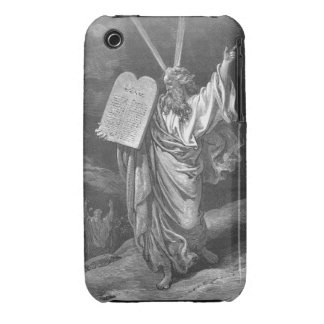 Moses en monte Sinaí Funda Para iPhone 3 De Case-Mate