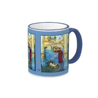 Moses en una taza de la cesta