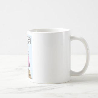 Moses has to menor, too. coffee mug