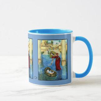 Moses in a Basket Mug