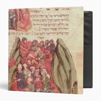 Moses leads the Children of Israel across 3 Ring Binder