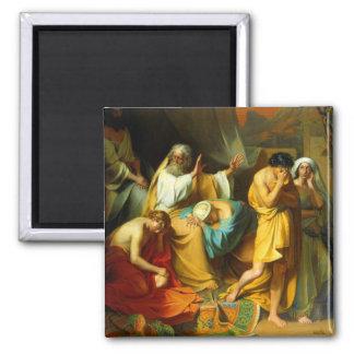 Moses maldice su imán del jamón del hijo