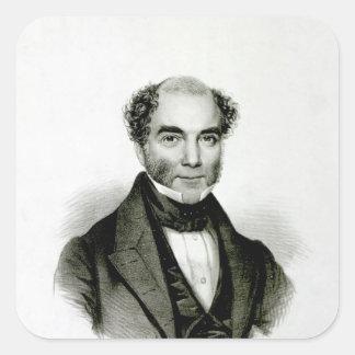 Moses Mendelssohn Square Sticker