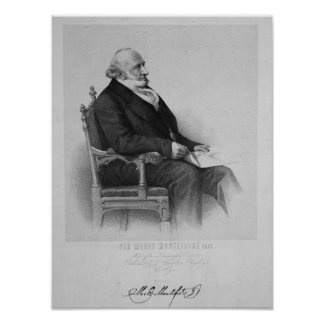 Moses Montefiore Poster