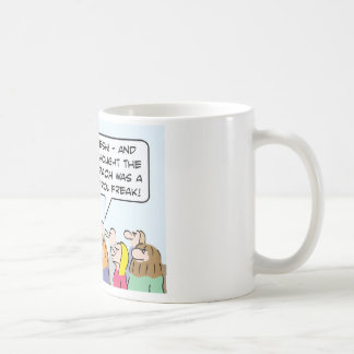 Moses more of a control freak than Pharaoh was. Coffee Mug