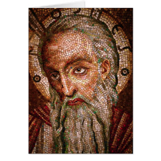 Moses Mosaic in the Cathedral Basilica of St Louis Card