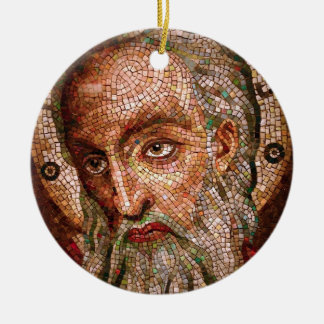 Moses Mosaic in the Cathedral Basilica of St Louis Ceramic Ornament