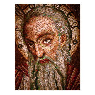 Moses Mosaic in the Cathedral Basilica of St Louis Postcard