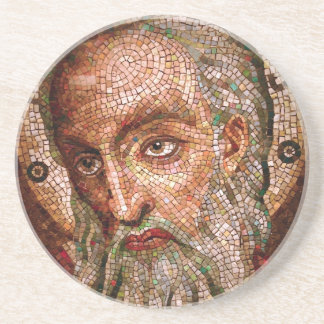 Moses Mosaic in the Cathedral Basilica of St Louis Sandstone Coaster