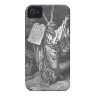 Moses on Mount Sinai iPhone 4 Cover