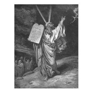 Moses on Mount Sinai Postcard