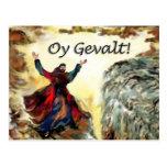 ¡Moses Oy Gevalt! Tarjetas Postales