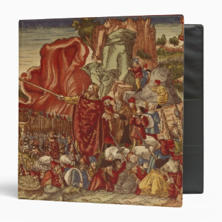 Moses parting the Red Sea 3 Ring Binder