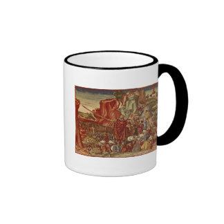 Moses parting the Red Sea Mug
