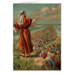 Moses Parts the Red Sea Greeting Card