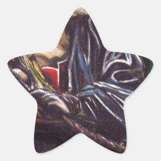 Moses Pegatina En Forma De Estrella