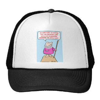 moses promised land middle east trucker hat
