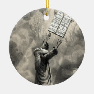 Moses Receives the Law ornament