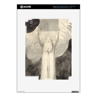 Moses Receiving the Law, c.1780 (brush and black i iPad 3 Skin