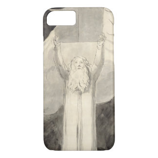 Moses Receiving the Law, c.1780 (brush and black i iPhone 7 Case