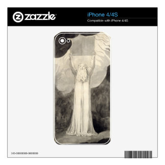 Moses Receiving the Law c 1780 brush and black i Decals For iPhone 4S