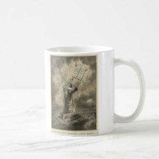 Moses Receiving the Law The Ten Commandments Coffee Mug