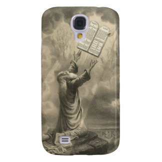 Moses Receiving the Law The Ten Commandments Galaxy S4 Cover