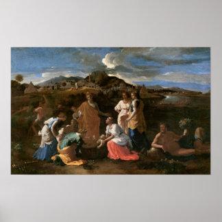 Moses rescató del agua, 1647 poster