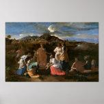 Moses rescató del agua, 1647 póster