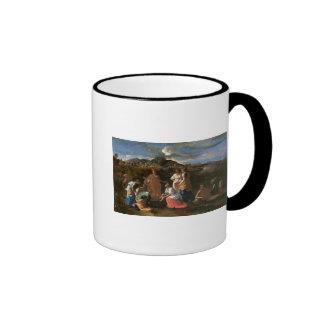 Moses rescató del agua, 1647 taza