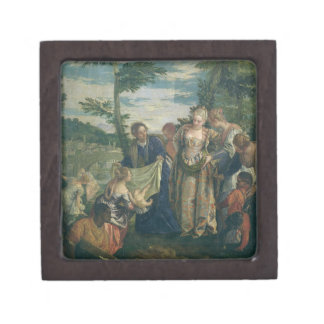 Moses Rescued from the Nile, 1580 (oil on canvas) Gift Box
