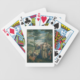 Moses Rescued from the Nile, 1580 (oil on canvas) Bicycle Playing Cards