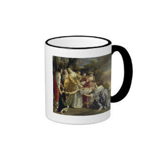 Moses Rescued from the Nile, c.1630 Ringer Coffee Mug