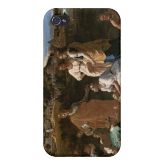 Moses Rescued from the Water, 1647 iPhone 4 Cases
