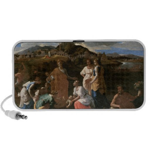 Moses Rescued from the Water, 1647 Mp3 Speakers