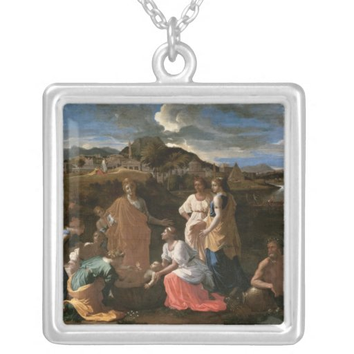 Moses Rescued from the Water, 1647 Pendant