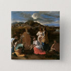 Moses Rescued from the Water, 1647 Pinback Button