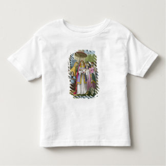 Moses Saved by Pharaoh's Daughter, from a bible pr Tshirts