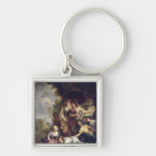 Moses Saved from the Water Key Chains