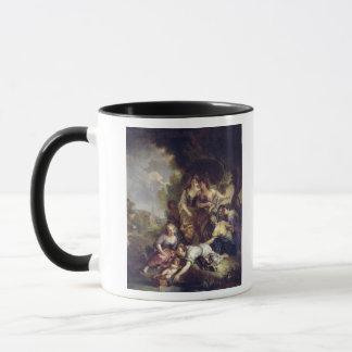 Moses Saved from the Water Mug