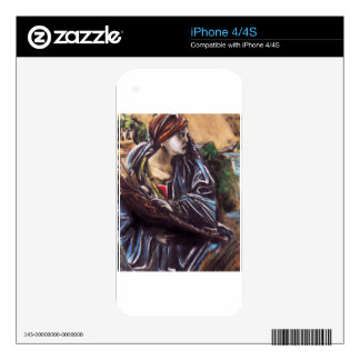 Moses Decal For iPhone 4