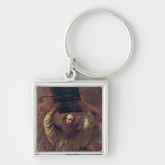 Moses Smashing the Tablets of the Law, 1659 Keychain