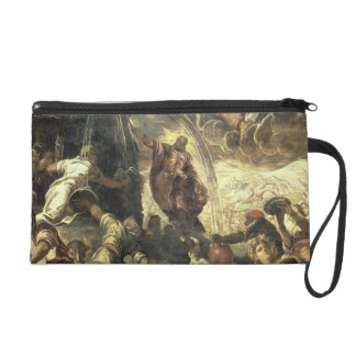 Moses Striking Water from the Rock, 1575 Wristlet Clutch