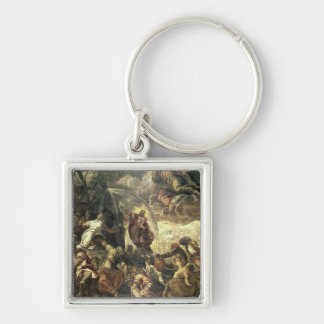 Moses Striking Water from the Rock, 1575 Keychain